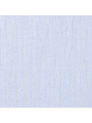 John Louden Seersucker Stripe Cotton Fabric