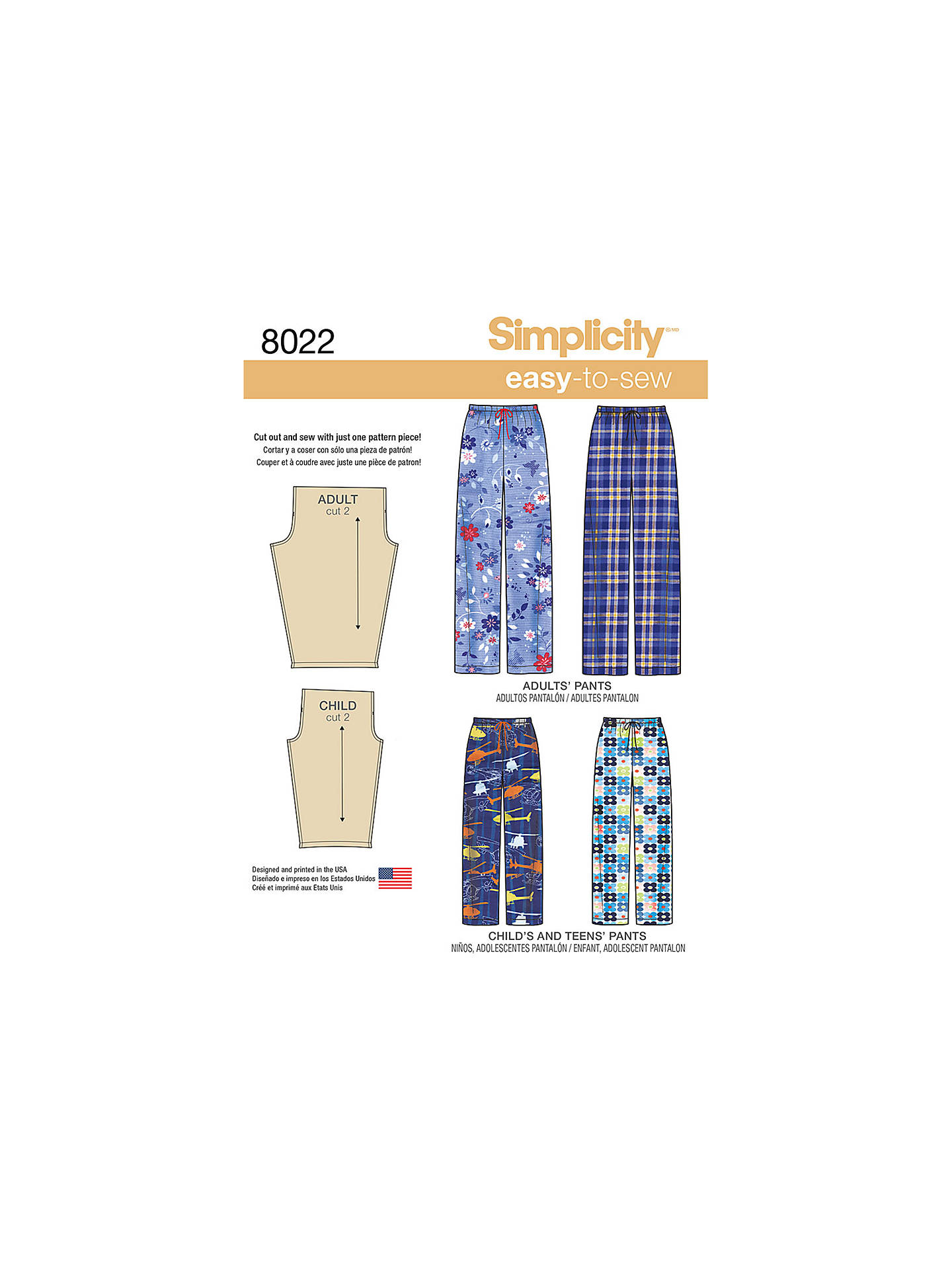 BuySimplicity Easy To Sew Child s 927f98708