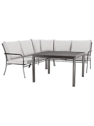 John Lewis Henley by KETTLER 5 Seater Garden Corner Sofa & Table Set
