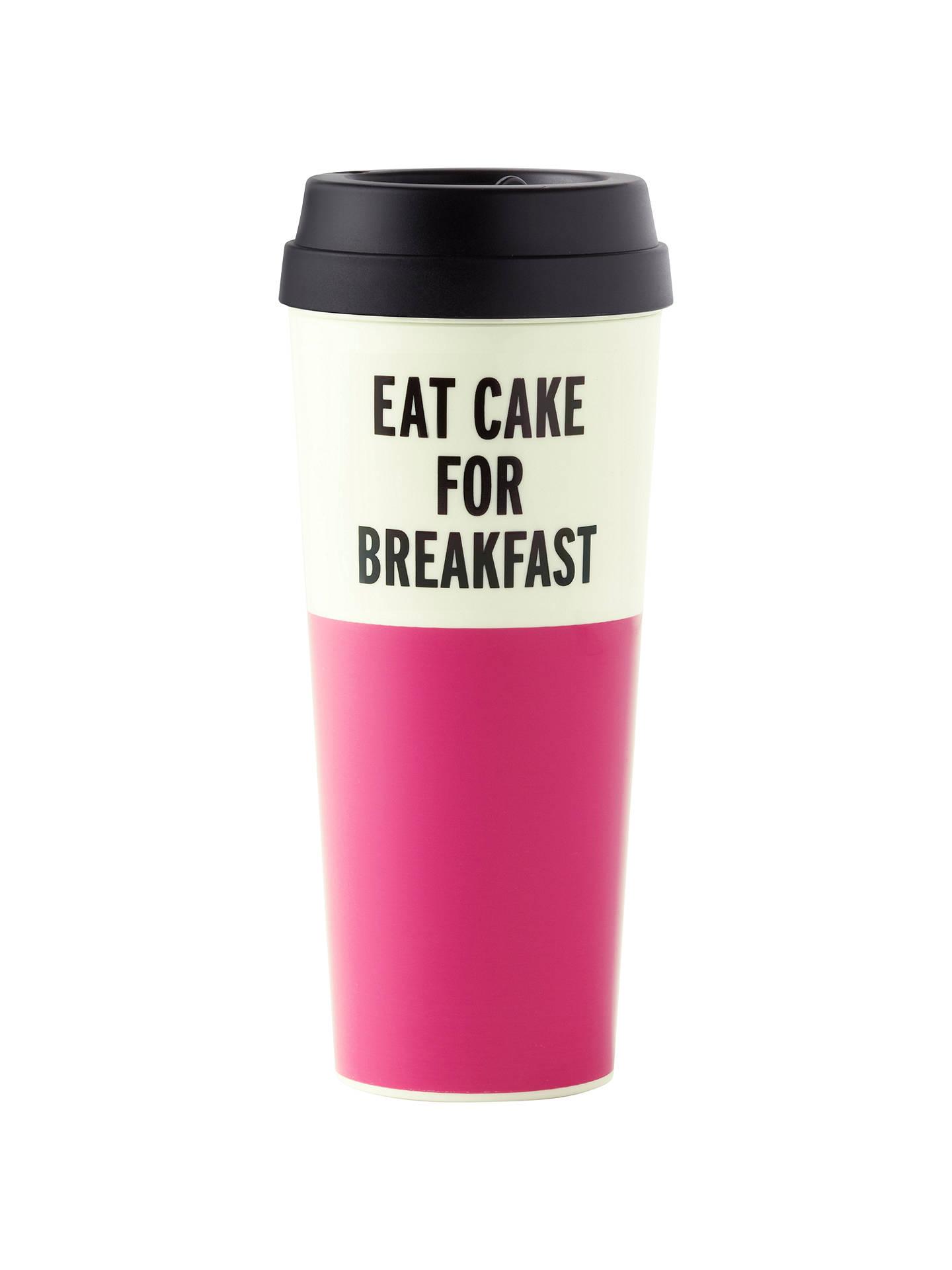 Mug New For York 'eat Cake Thermal Kate Spade Breakfast' K1JTlFc