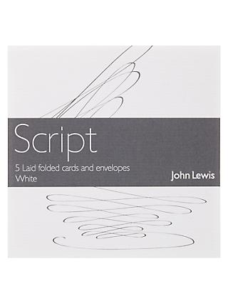 Notecards invitations john lewis partners john lewis partners laid cards and envelopes white stopboris Image collections