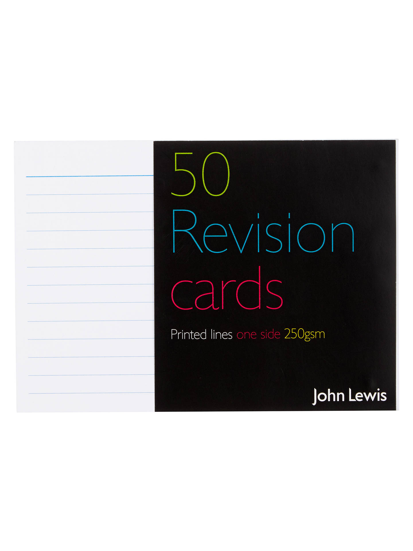 Buy John Lewis & Partners Revision Cards, Pack of 50 Online at johnlewis.com