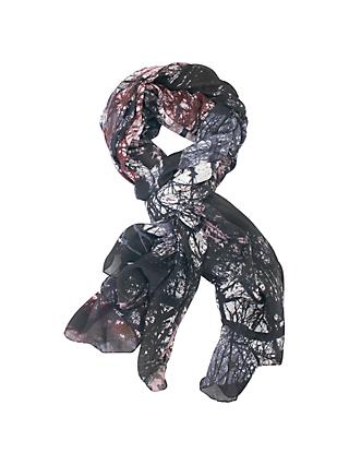 Chesca Abstract Print Scarf, Multi