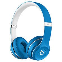 Buy Beats™ by Dr. Dre™ Solo™ 2 HD High Definition On-Ear Headphones with Mic/Remote, Luxe Edition Online at johnlewis.com