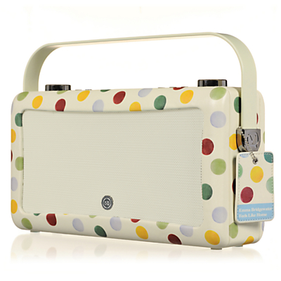 Image of EMMA BRIDGEWATE by EMMA BRIDGEWATEr VQ Hepburn Mk II Portable DAB? Bluetooth Clock Radio
