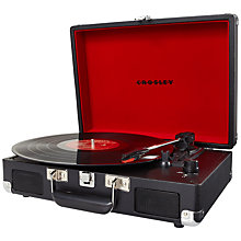 Buy Crosley Cruiser Turntable With Three Speeds Online at johnlewis.com