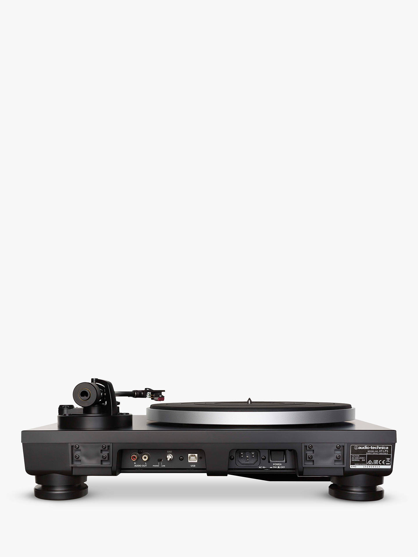 BuyAudio-Technica AT-LP5 USB Turntable With Audacity Software Online at johnlewis.com