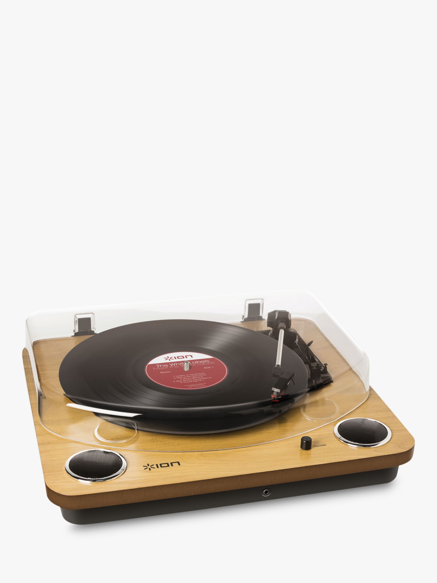 Ion ION Max LP Conversion Turntable with Speakers