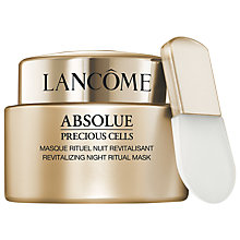 Buy Lancôme Absolue Precious Cells Revitalising Night Ritual Mask, 75ml Online at johnlewis.com