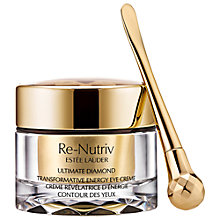 Buy Estée Lauder Re-Nutriv Ultimate Diamond Transformative Energy Eye Crème, 15ml Online at johnlewis.com