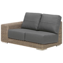 Buy 4 Seasons Outdoor Kingston Modular 2-Seater Garden Sofa, Left Hand Side Online at johnlewis.com