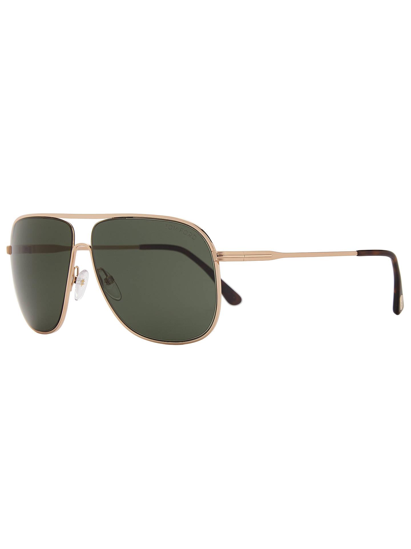 682d653cc4 TOM FORD FT0451 Dominic Aviator Sunglasses at John Lewis   Partners