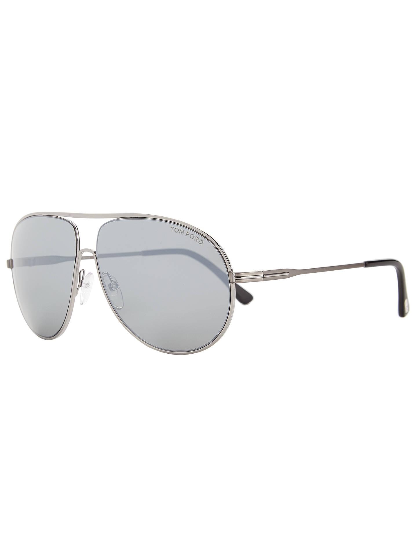 55554464ba TOM FORD FT0450 Cliff Aviator Sunglasses at John Lewis   Partners