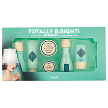 Buy Benefit 'Totally B.Right!' Skincare Gift Set Online at johnlewis.com