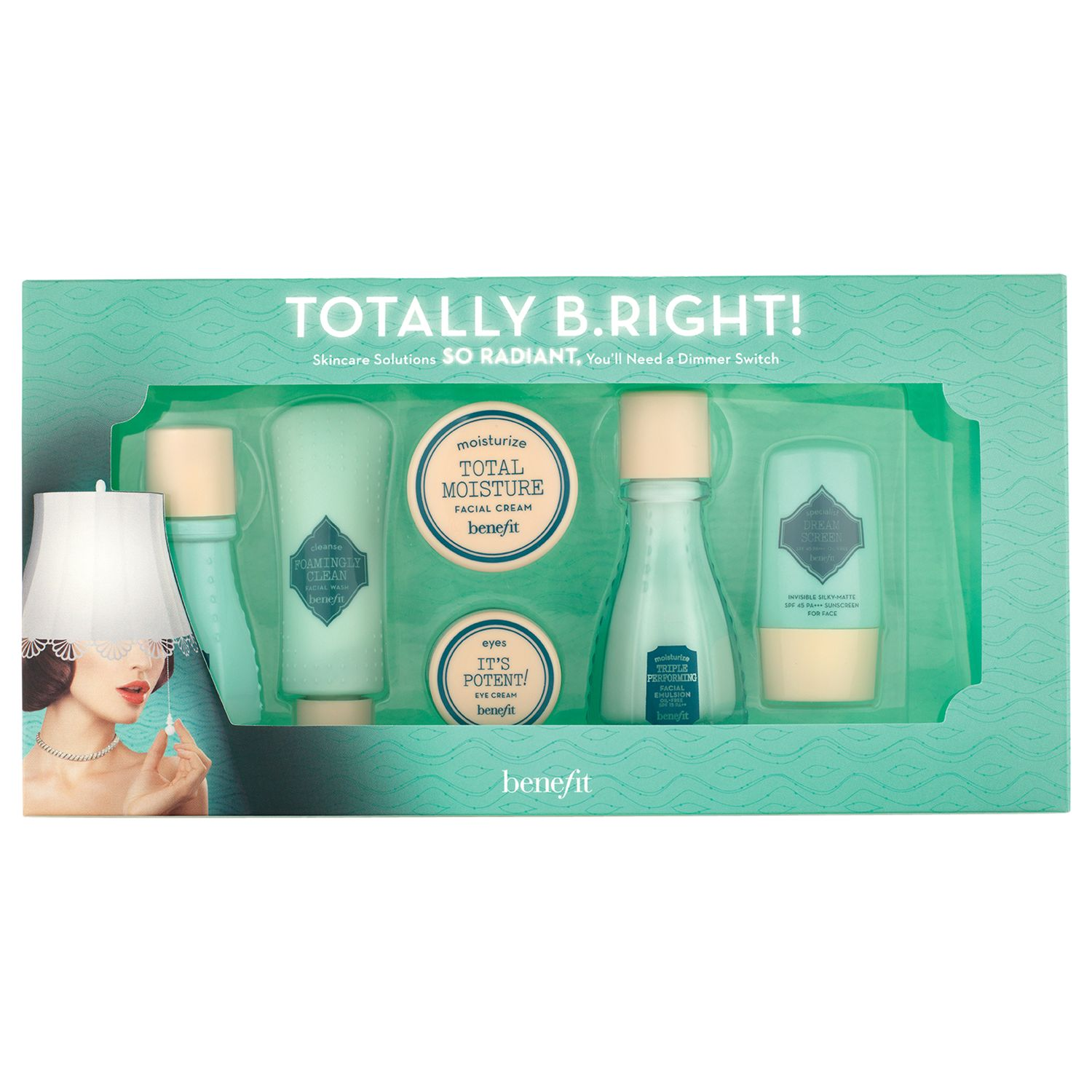 Benefit Work Kit Girl Makeup Set Compare Bluewater Operation Pore Proof