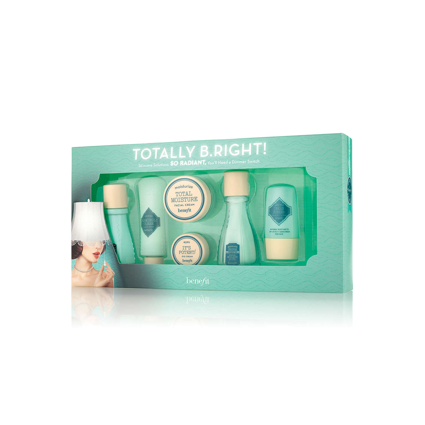 BuyBenefit 'Totally B.Right!' Skincare Gift Set Online at johnlewis.com