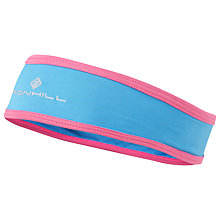Buy Ronhill Stretch Headband, Blue/Rose Online at johnlewis.com