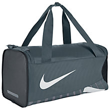 Buy Nike Alpha Adapt Crossbody Duffel Bag, Grey Online at johnlewis.com