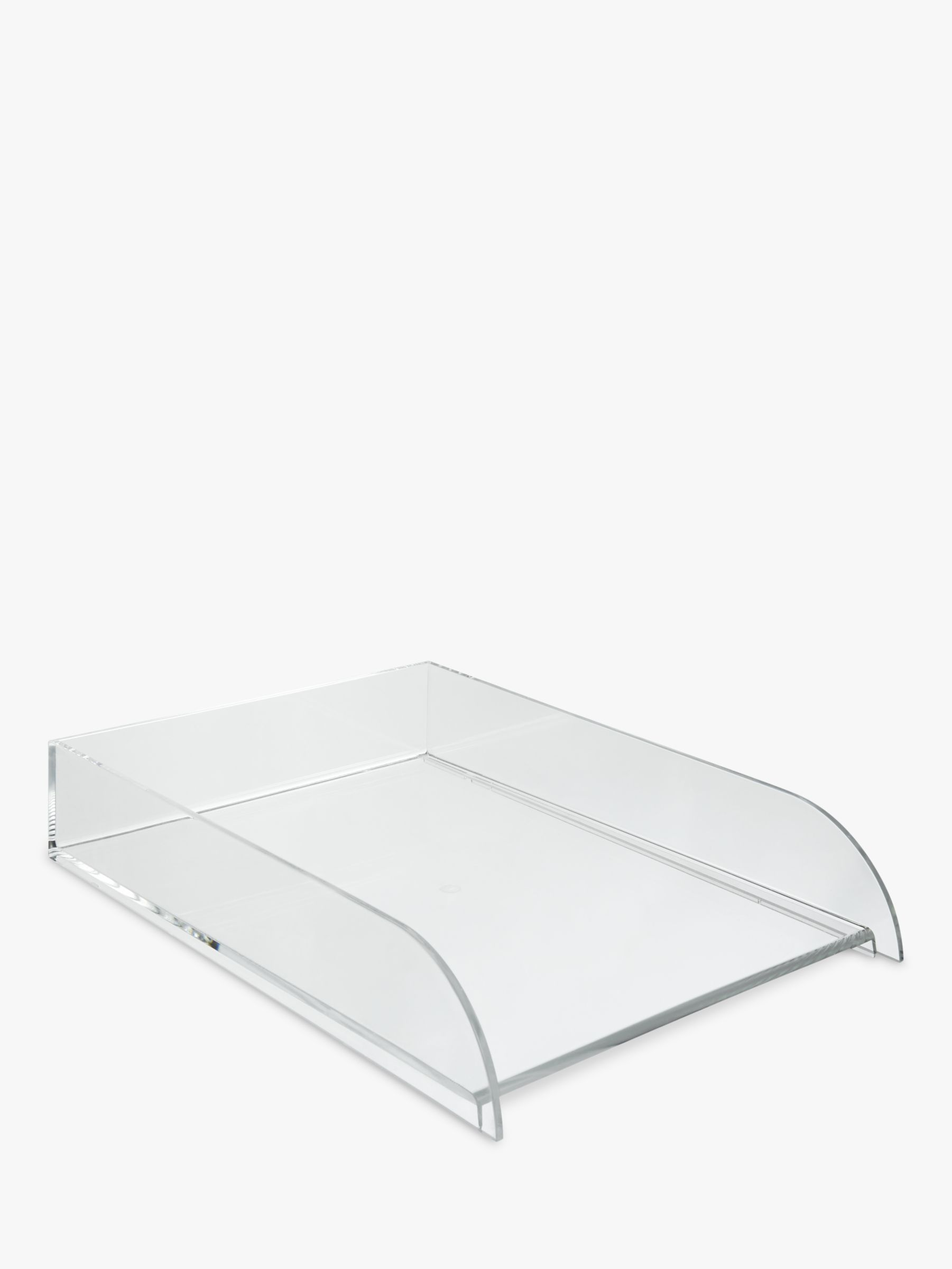 Osco Osco Stackable Letter Tray, Clear