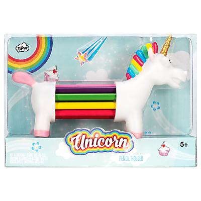 Product photo of Unicorn pencil holder