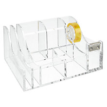 Buy Osco Acrylic Desk Organiser, Small Online at johnlewis.com