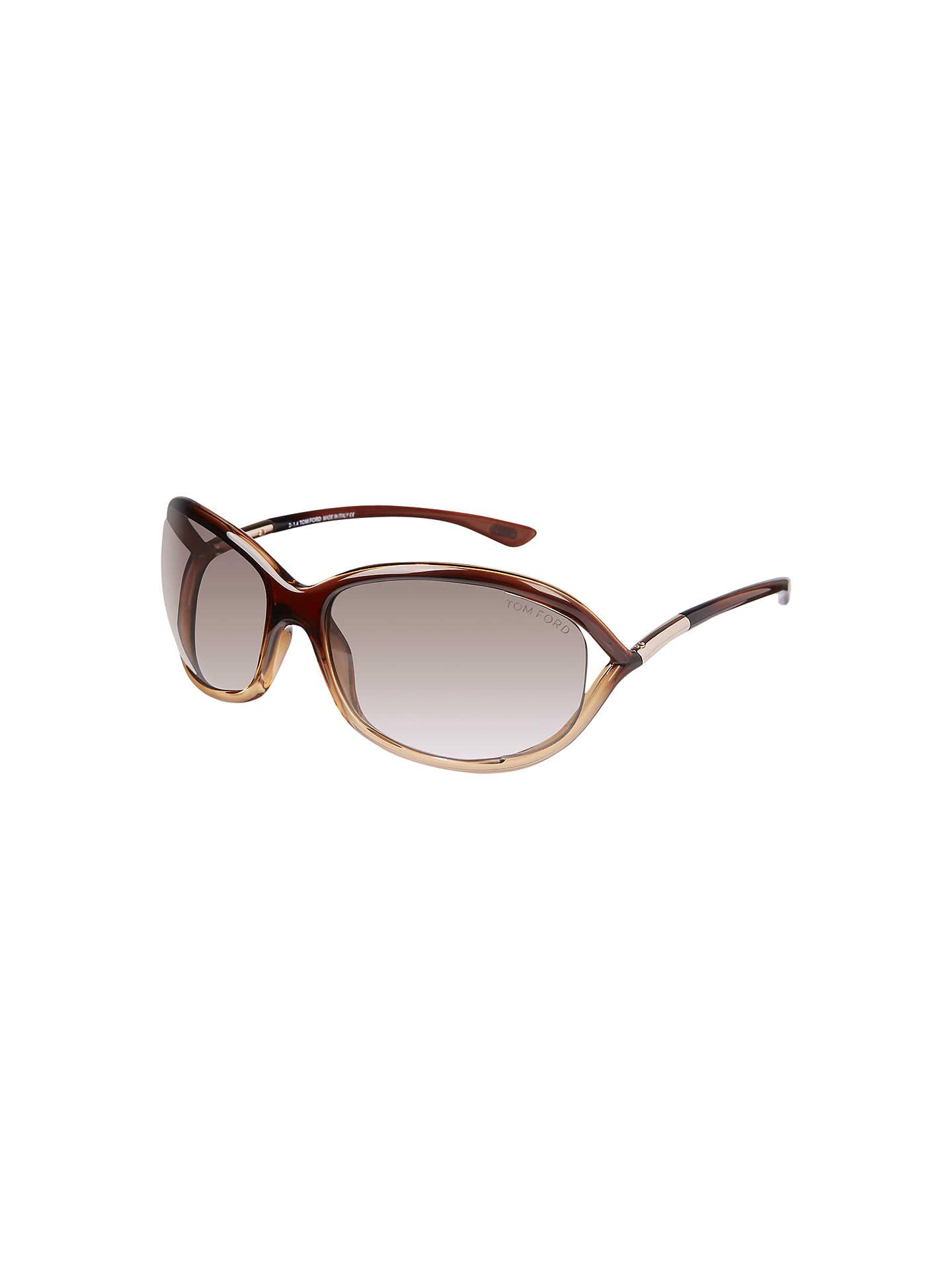 73d2d38f49599 Buy TOM FORD FT008 Jennifer Rectangular Sunglasses