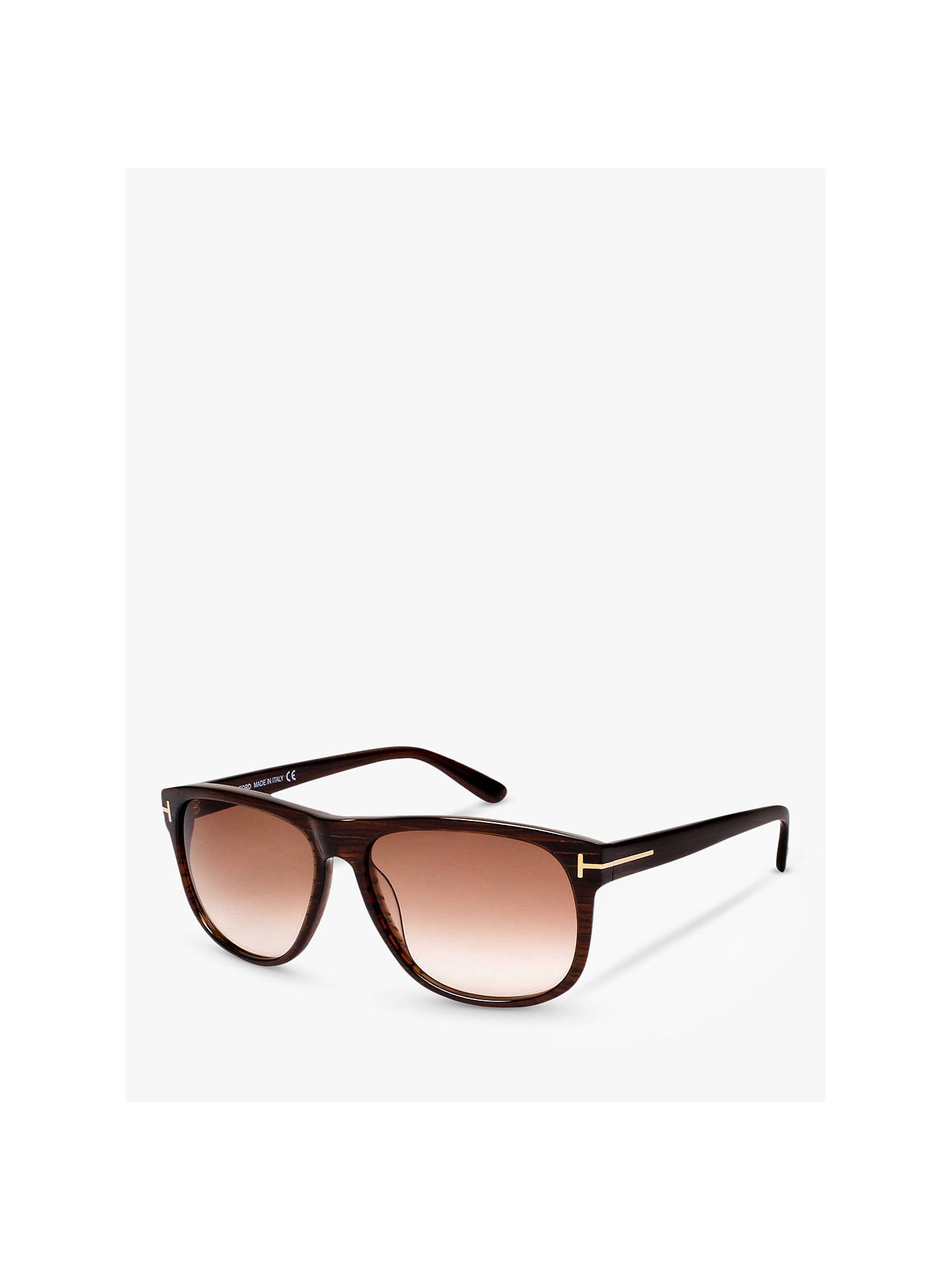e9a50d109df TOM FORD FT0236 Olivier Square Sunglasses at John Lewis   Partners