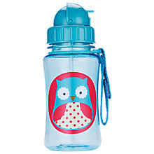 Buy Skip Hop Owl Zoo Straw Bottle Online at johnlewis.com
