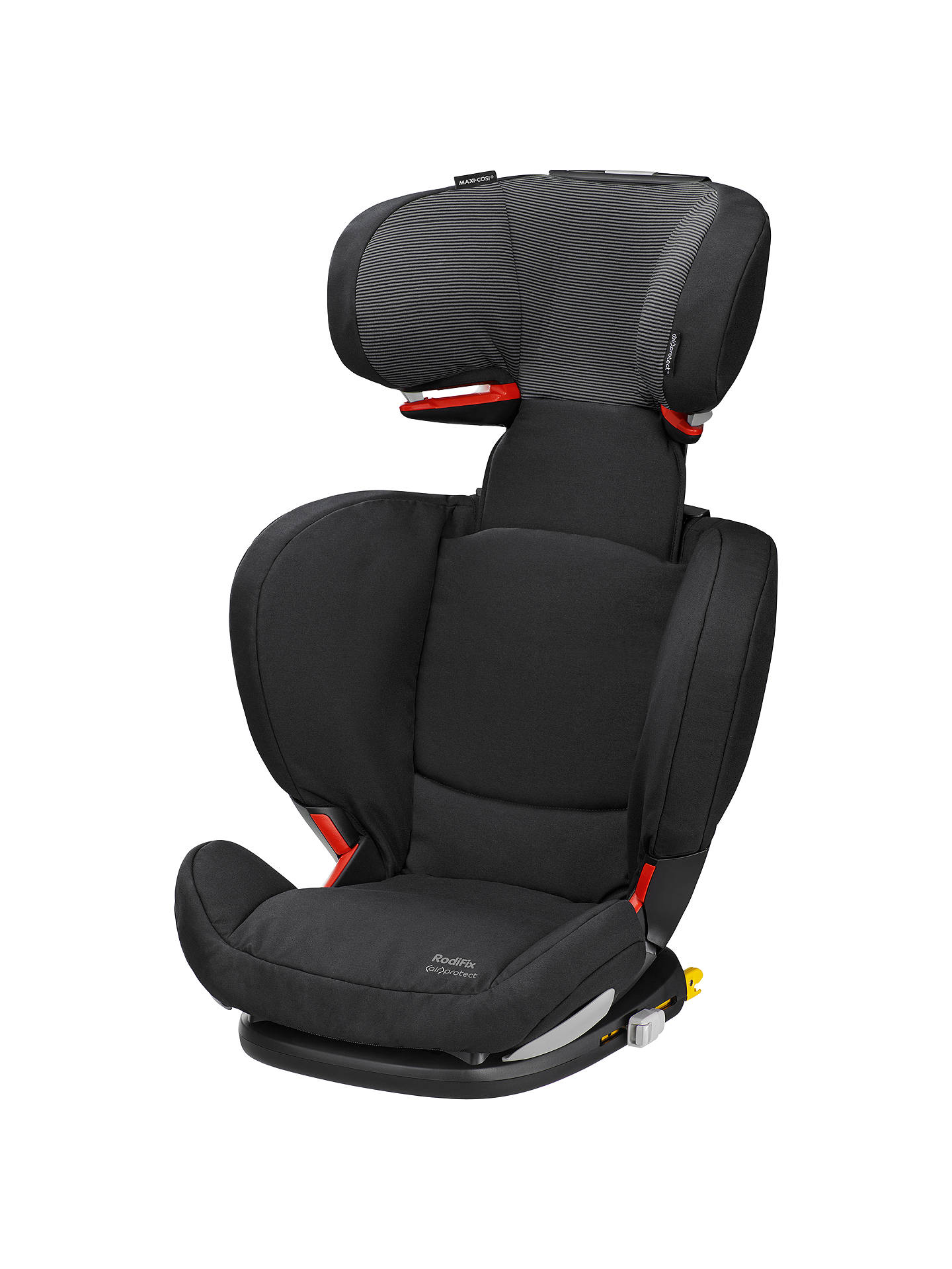 maxi cosi rodifix air protect group 2 3 car seat black. Black Bedroom Furniture Sets. Home Design Ideas