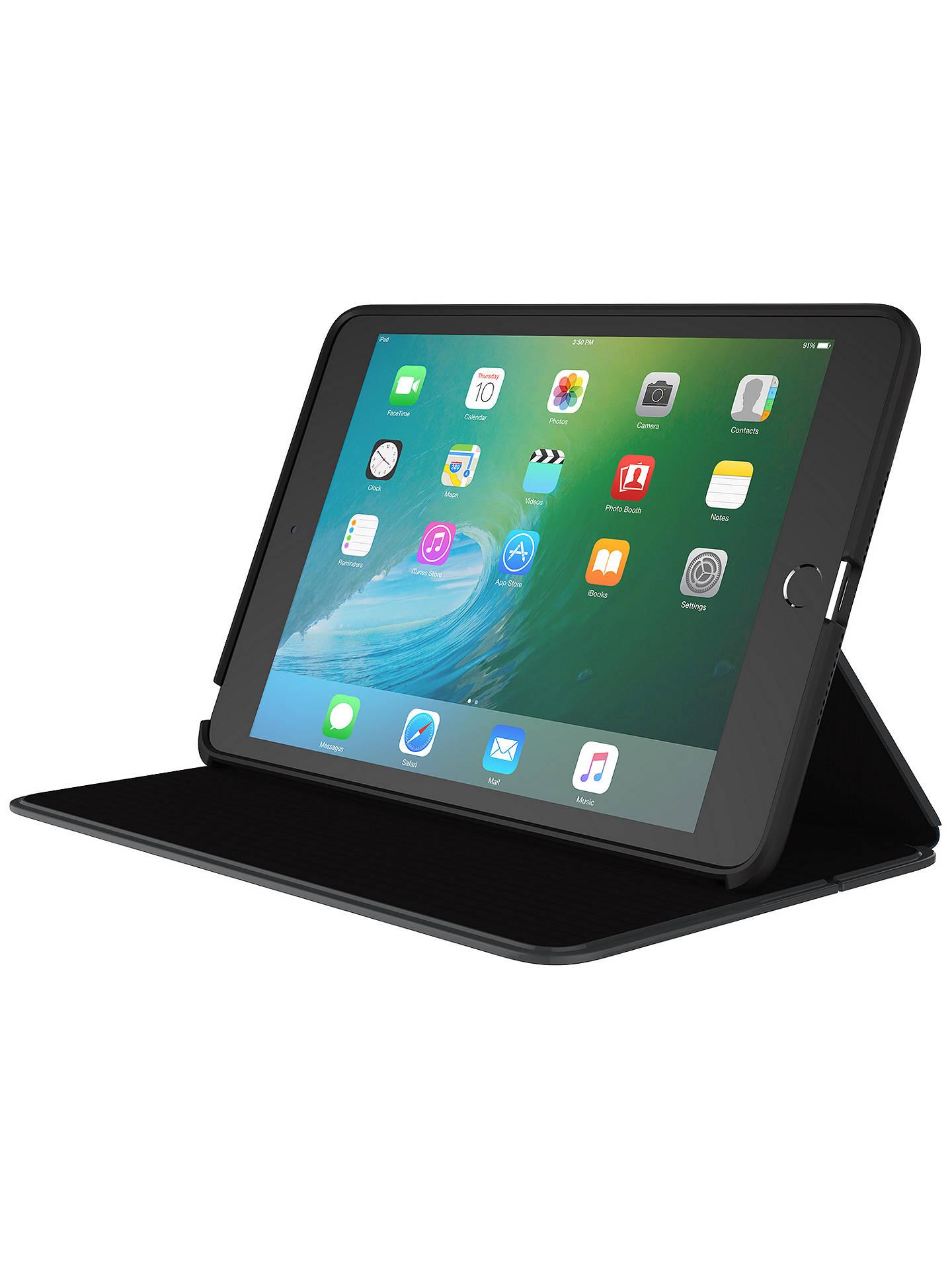 buy online 34e3d 68e26 Speck Durafolio iPad Mini 4 Case, Black/Slate Grey at John Lewis ...