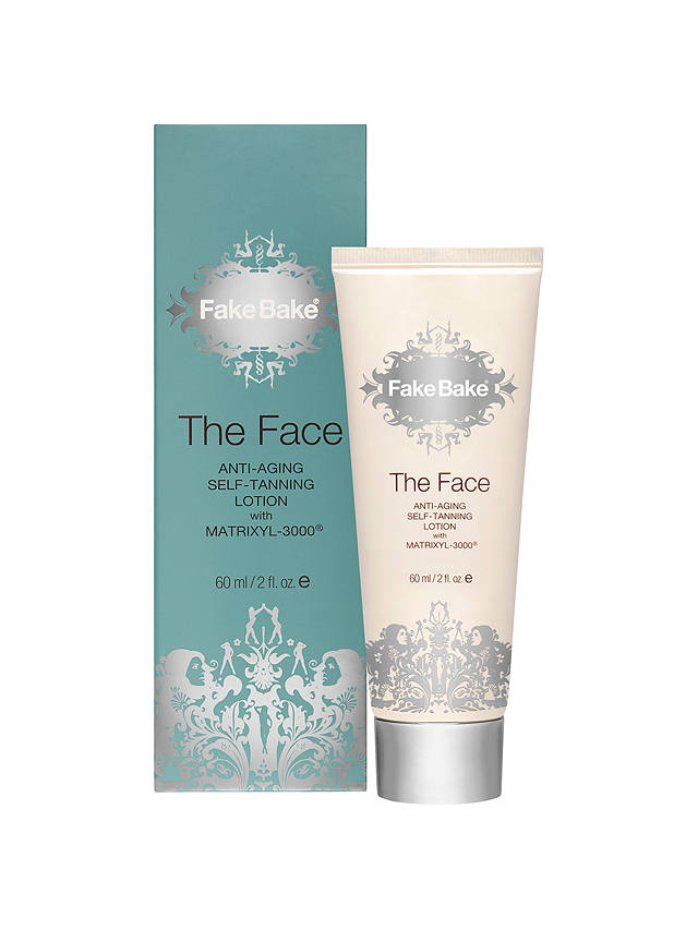 Buy Fake Bake The Face Anti-Aging Self-Tanning Lotion, 60ml Online at johnlewis.com