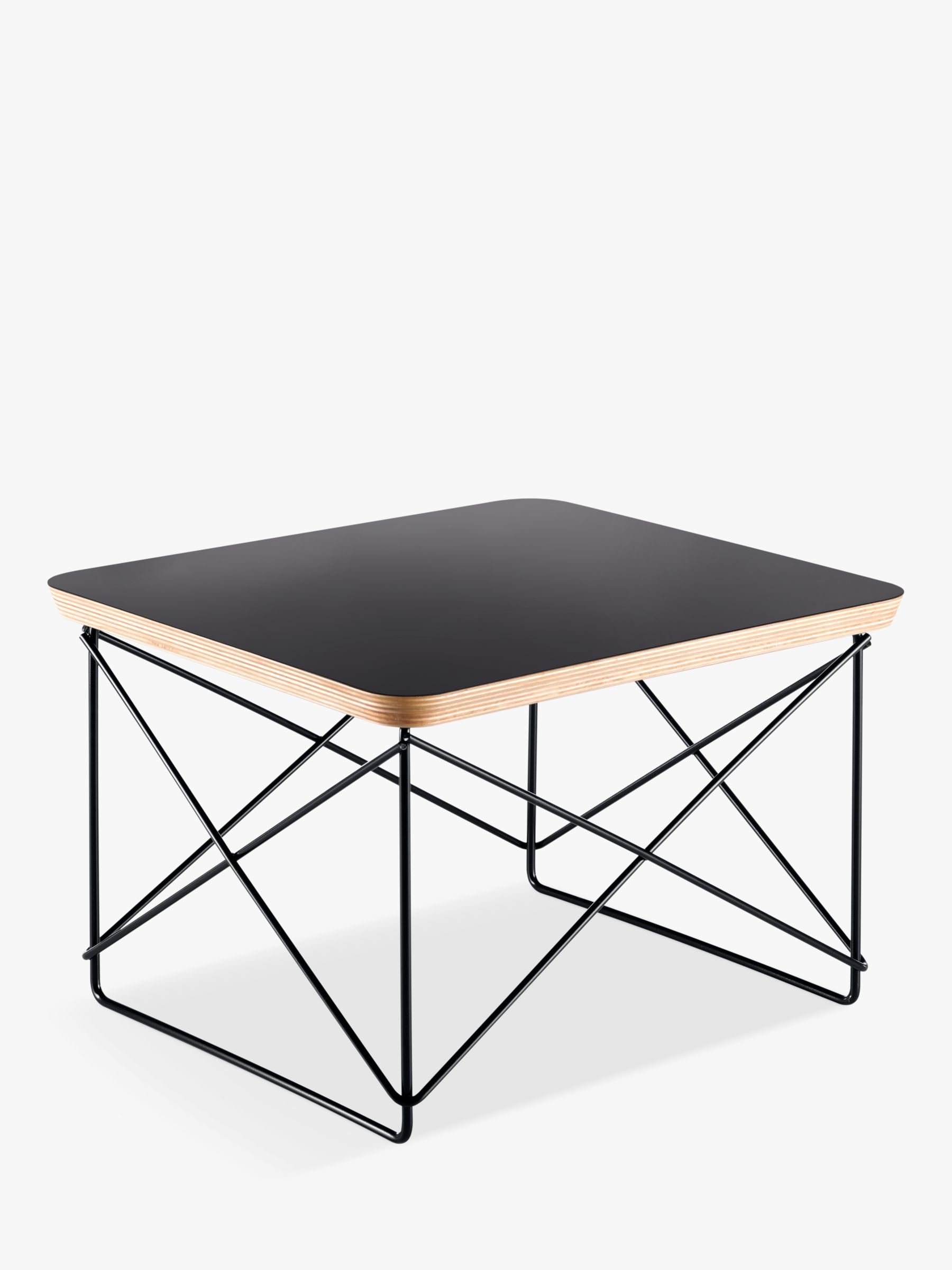Vitra Vitra Eames LTR Occasional Side Table, Black