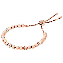 Buy Michael Kors Pave Crystal Adjustable Bracelet Online at johnlewis.com