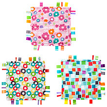 Buy Bright Starts Little Taggies Baby Blanket, Assorted Online at johnlewis.com
