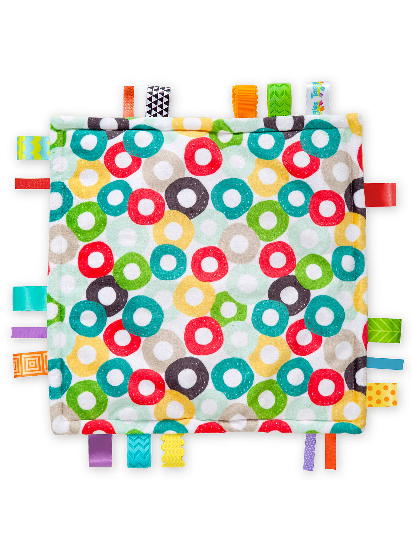 BuyBright Starts Little Taggies Baby Blanket, Assorted Online at johnlewis.com