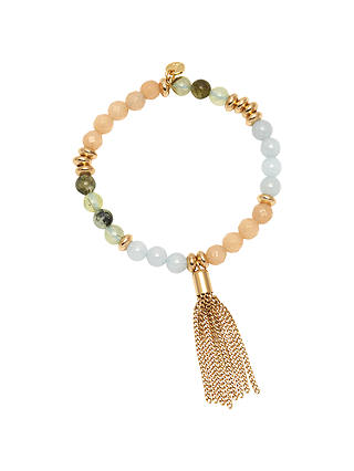 Buy Lola Rose Fabrizio Boxed Stretch Bracelet, Green Mix Online at johnlewis.com
