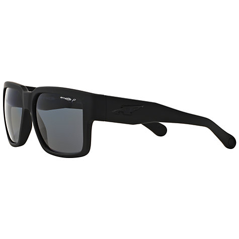 arnette sunglasses ackf  Buy Arnette AN4213 Polarised Square Sunglasses, Black Online at  johnlewiscom