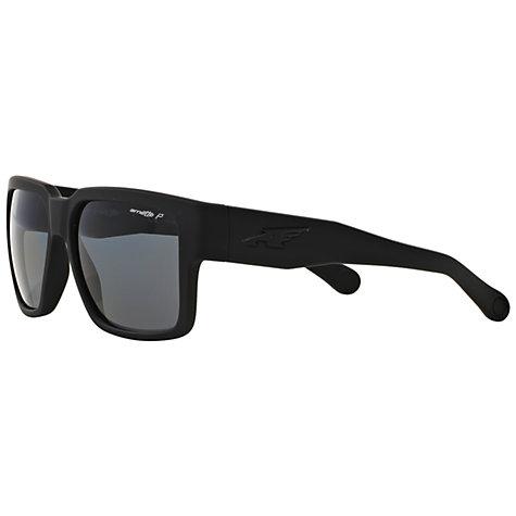 arnette sunglasses ackf  Buy Arnette AN4213 Polarised Square Sunglasses, Black Online at  johnlewiscom