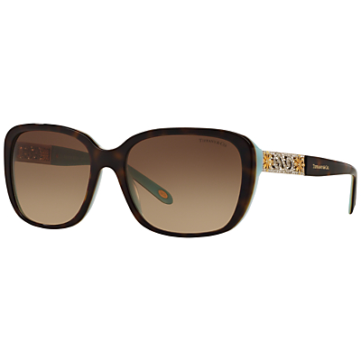 Tiffany & Co TF4120B Embellished Square Sunglasses
