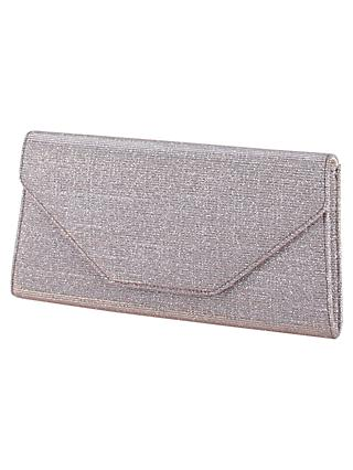 Rainbow Club Saskia Clutch Bag, Metallic