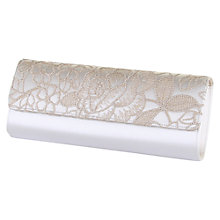 Buy Rainbow Club Vera Clutch Bag, Ivory Online at johnlewis.com