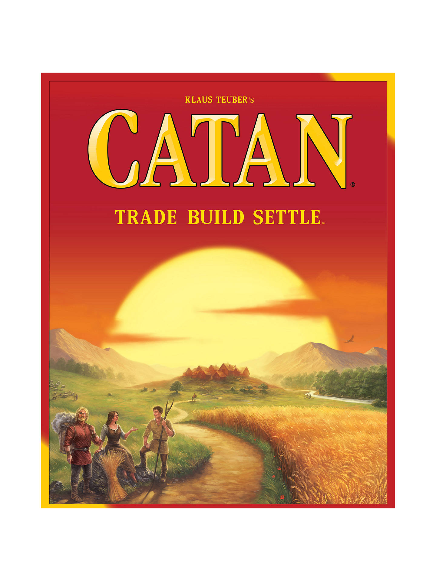 BuySettlers Of Catan Game 2015 Edition Online at johnlewis.com