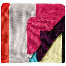 Buy Clarissa Hulse Watercolour Patchwork Throw Online at johnlewis.com