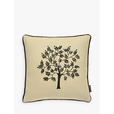 Morris & Co Seaweed Cushion, Natural