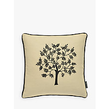 Buy Morris & Co Seaweed Cushion, Natural Online at johnlewis.com