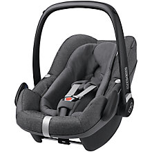 Buy Maxi-Cosi Pebble Plus i-Size Group 0+ Baby Car Seat, Sparkling Grey Online at johnlewis.com
