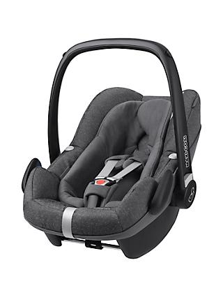 Maxi-Cosi Pebble Plus i-Size Baby Car Seat, Sparkling Grey