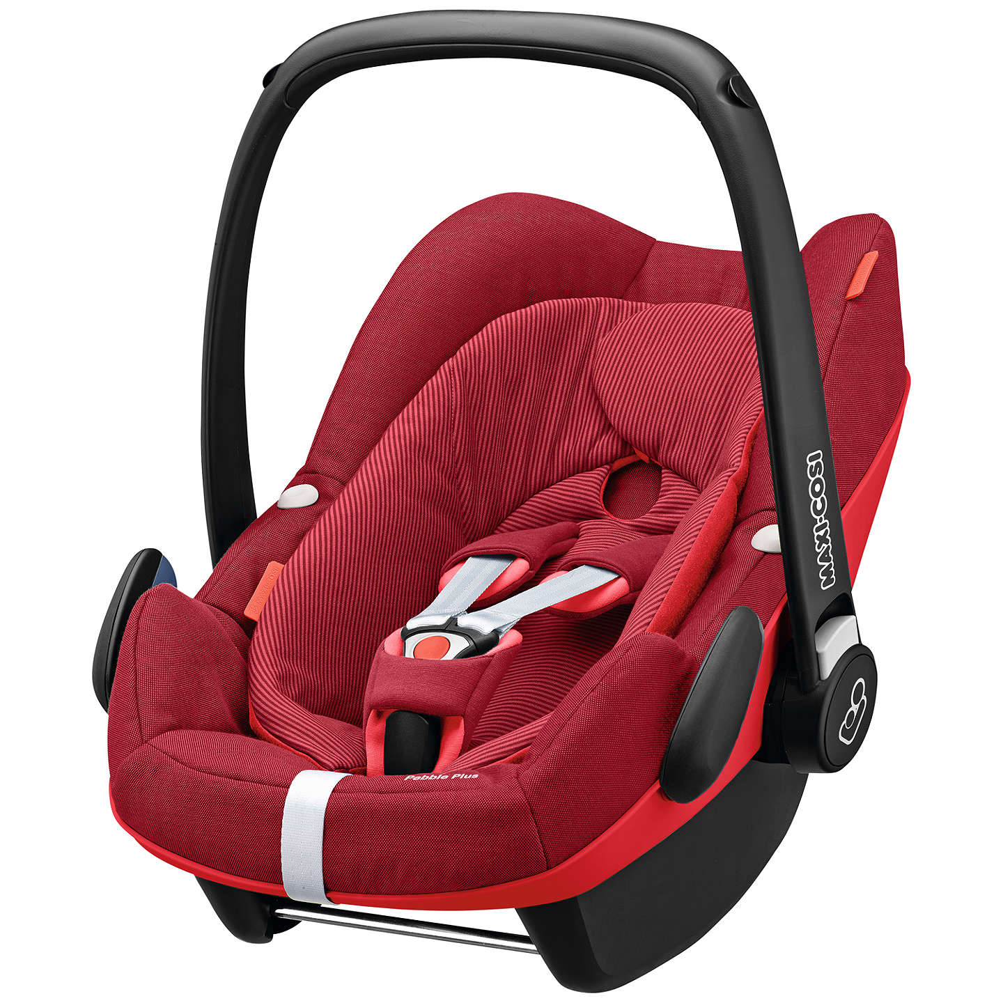maxi cosi pebble plus i size group 0 baby car seat robin red at john lewis. Black Bedroom Furniture Sets. Home Design Ideas