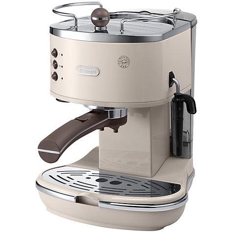 Bg Vintage Icona Espresso Coffee Machine Cream Online At Johnlewis