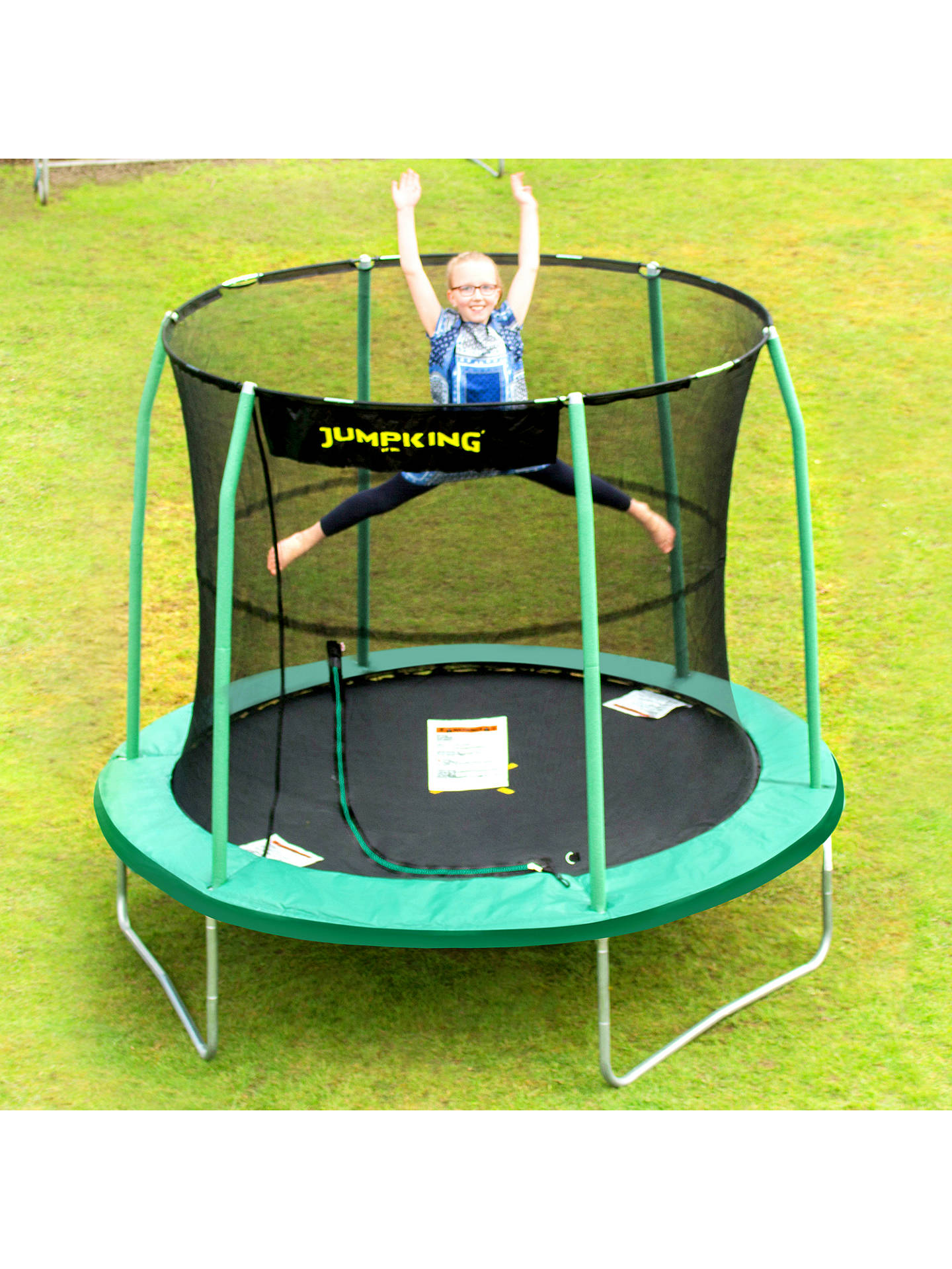 Buy JumpKing 8ft Classic Combo Trampoline Online at johnlewis.com